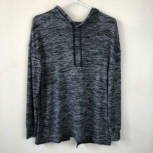 Wilfred Free Aritzia XS oversized open back hoodie